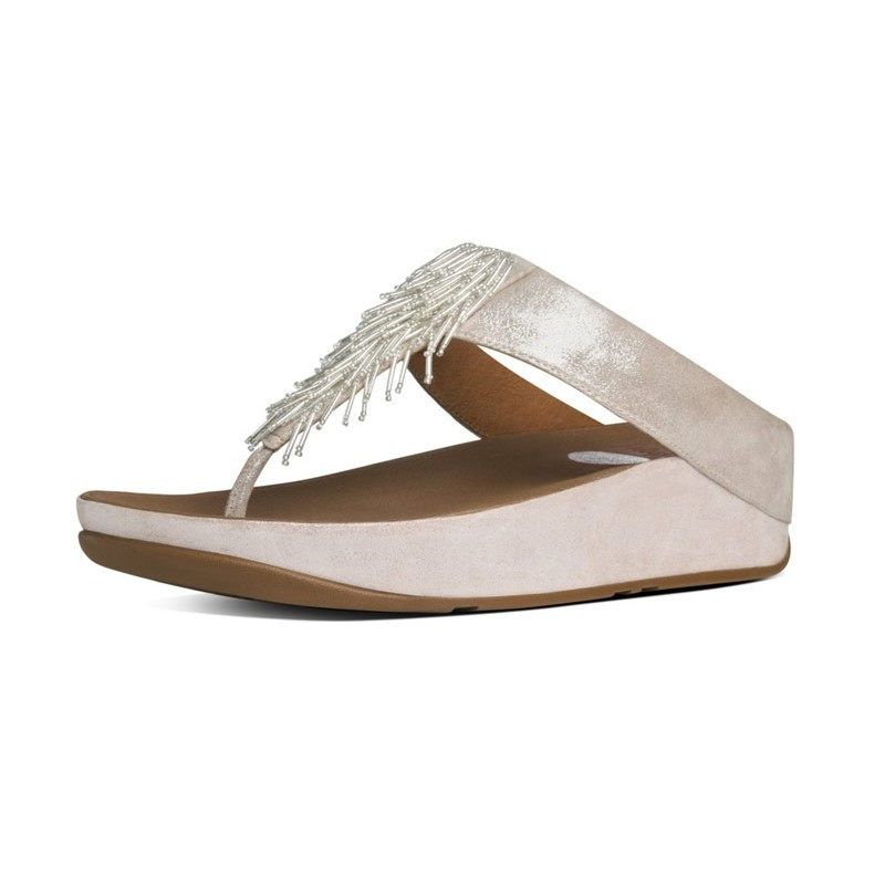 FitFlop Cha Cha Silver