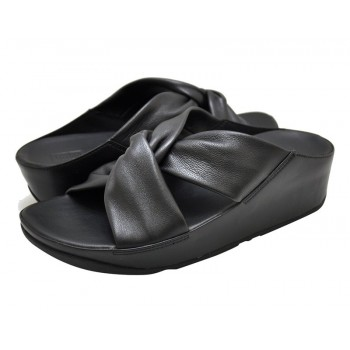 FitFlop Twiss™ Slide Black