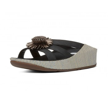FitFlop Rosita Slide Black