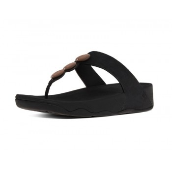 FitFlop Aztek Chada Slide Rose Gold