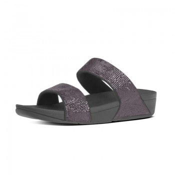FitFlop Electra™ Micro Slide Pewter