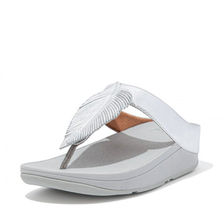 FitFlop Fino™ TP Feather Silver