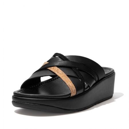 FitFlop Kessia™ Slide Strappy Black