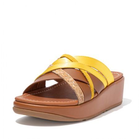 FitFlop Kessia™ Slide Strappy Tan