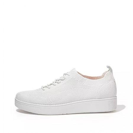 FitFlop Rally™ Tonal Knit Sneaker White