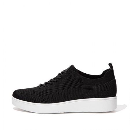 FitFlop Rally™ Tonal Knit Sneaker Black