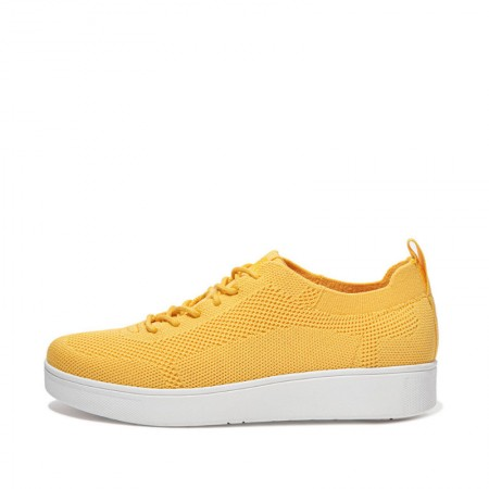 FitFlop Rally™ Tonal Knit Sneaker Yellow