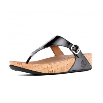 FitFlop The Skinny™ Patent Black