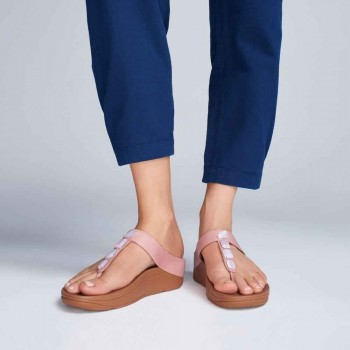 FitFlop Roka™ Toe Thong Black